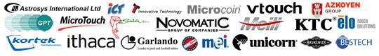 Astrosys, ICT, Microcoin, Innovative, Garlando, Unicorn, Bestech, Brunswick